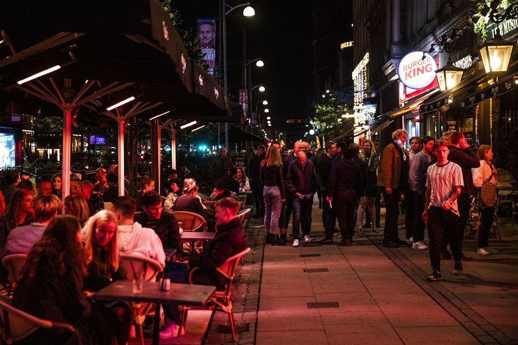 natteliv i gaden