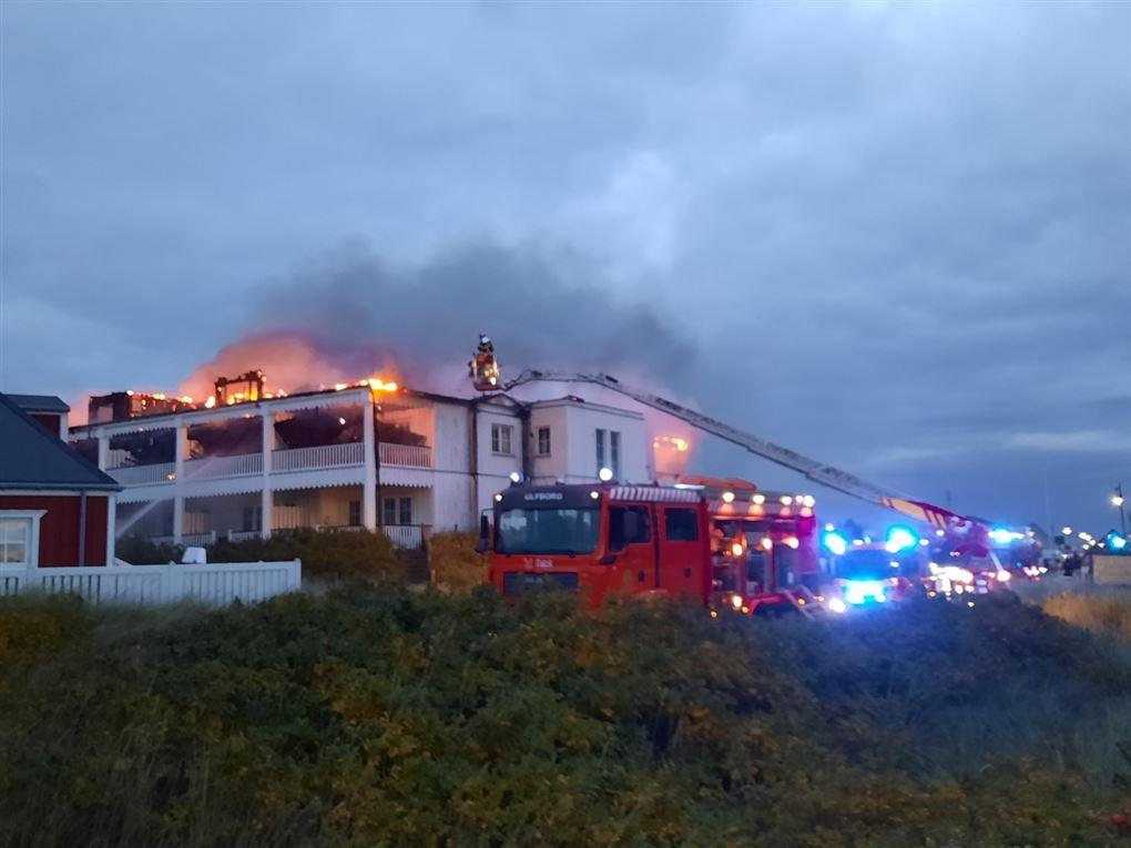 hotellet i brand