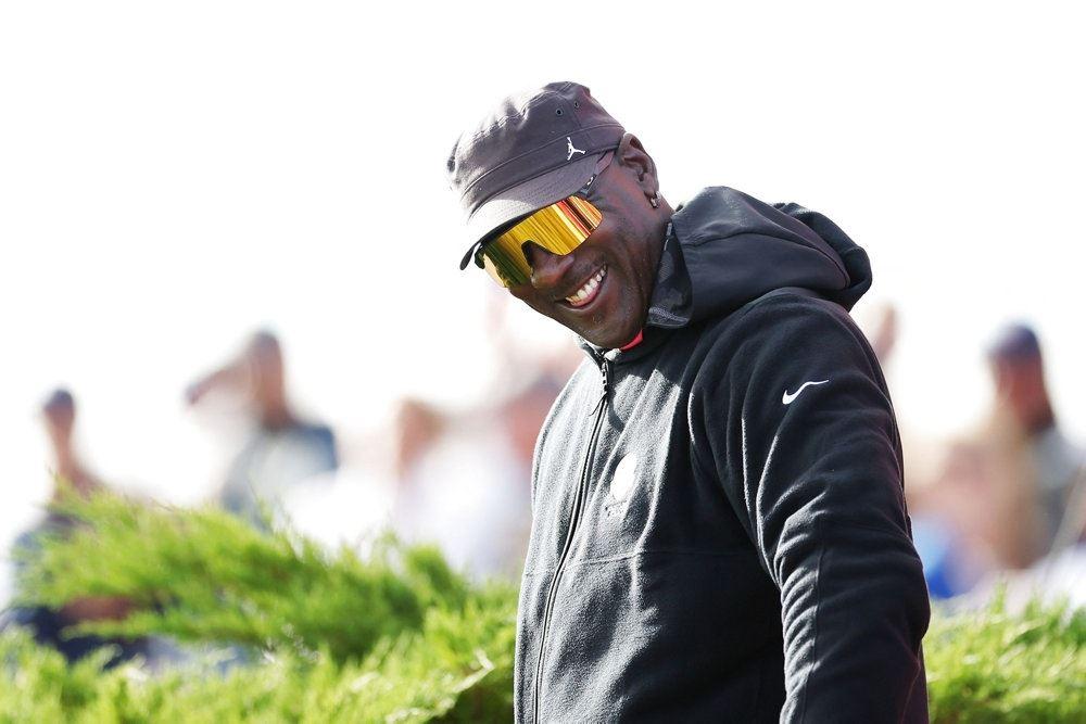 michael jordan smiler