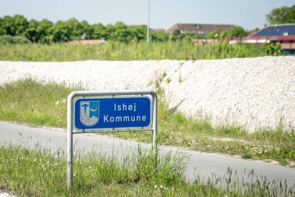 Byskilt for Ishøj kommune
