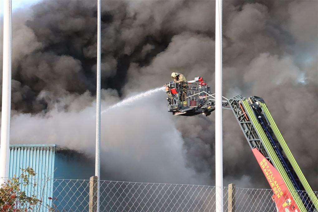 Højbjerg Maskinfabrik i brand